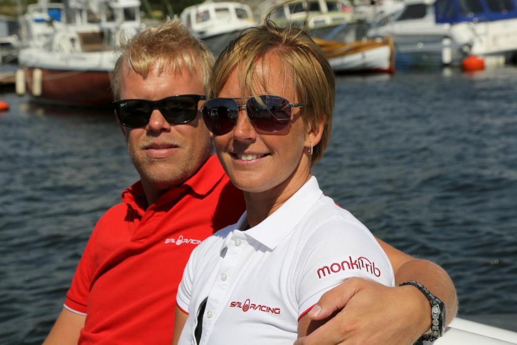Magnus och Sara Larsson